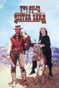 "Poster for the movie ""Two Mules for Sister Sara"""