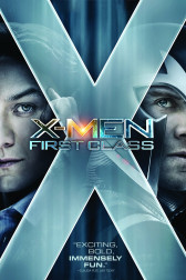 "Poster for the movie ""X-Men: First Class"""