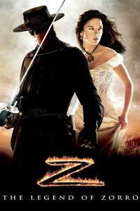 "Poster for the movie ""The Legend of Zorro"""
