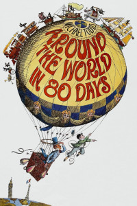 """Poster for the movie """"Around the World in Eighty Days"""""""