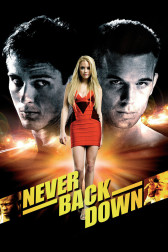 """Poster for the movie """"Never Back Down"""""""
