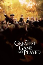"""Poster for the movie """"The Greatest Game Ever Played"""""""