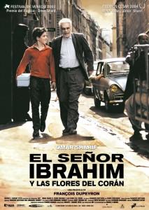 "Poster for the movie ""Monsieur Ibrahim"""