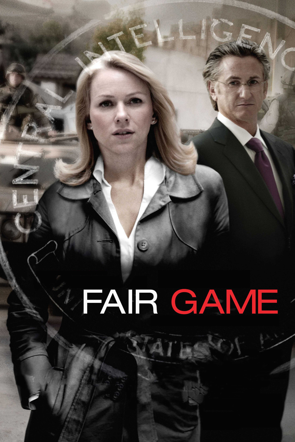 """Poster for the movie """"Fair Game"""""""