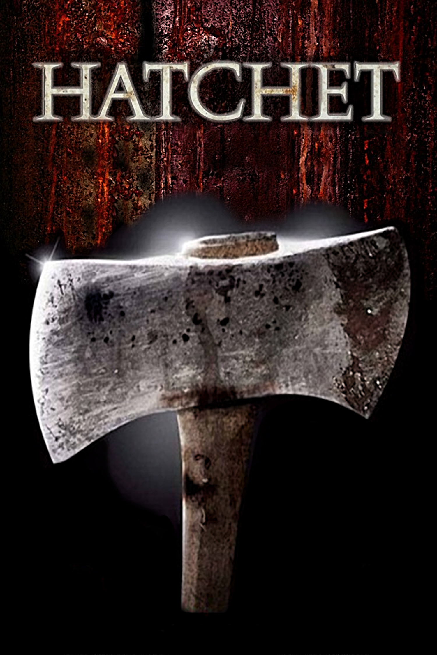 """Poster for the movie """"Hatchet"""""""