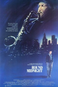 "Poster for the movie ""'Round Midnight"""