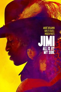 """Poster for the movie """"Jimi: All Is by My Side"""""""