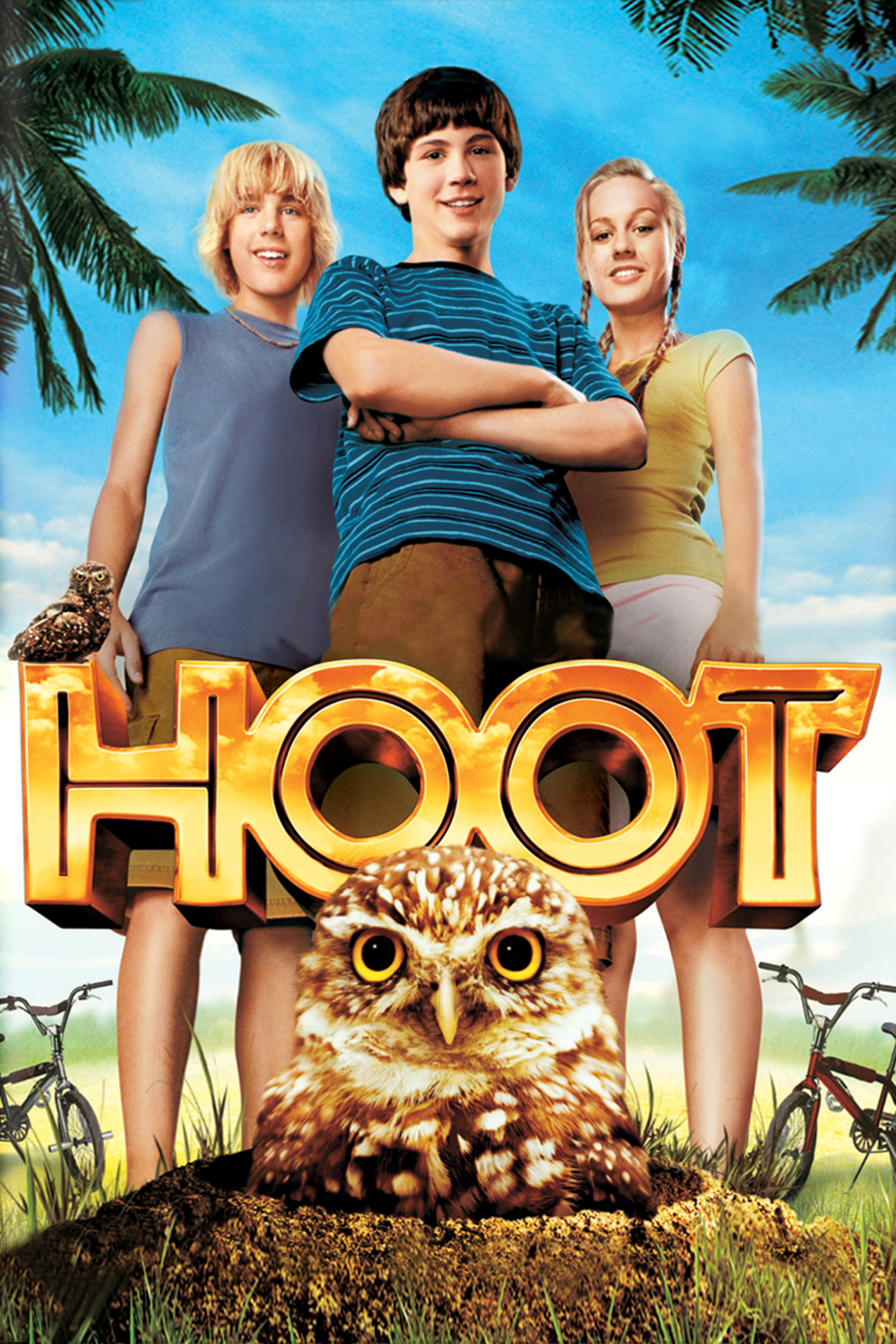 """Poster for the movie """"Hoot"""""""