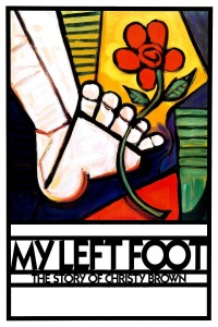"""Poster for the movie """"My Left Foot: The Story of Christy Brown"""""""