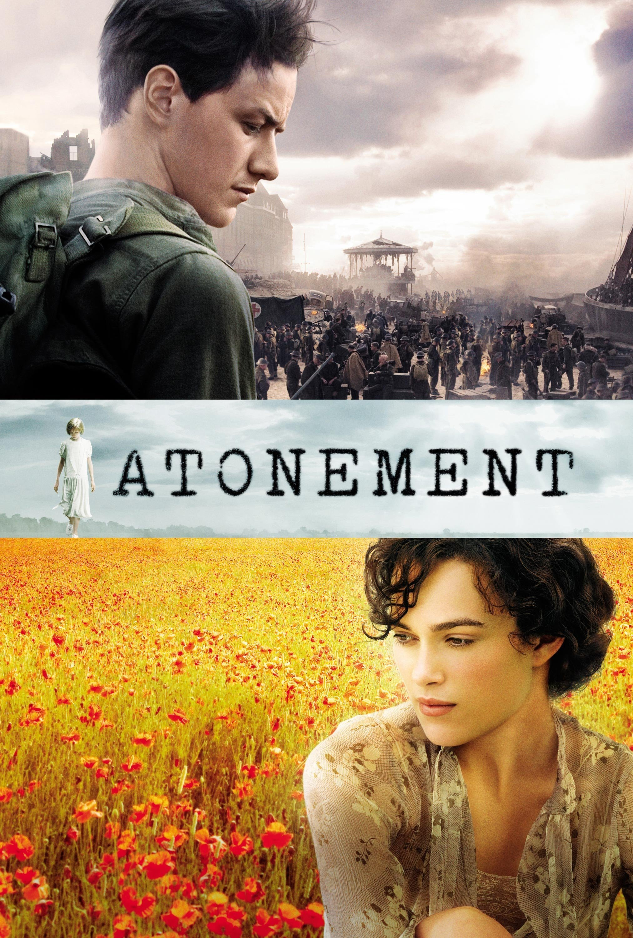 """Poster for the movie """"Atonement"""""""