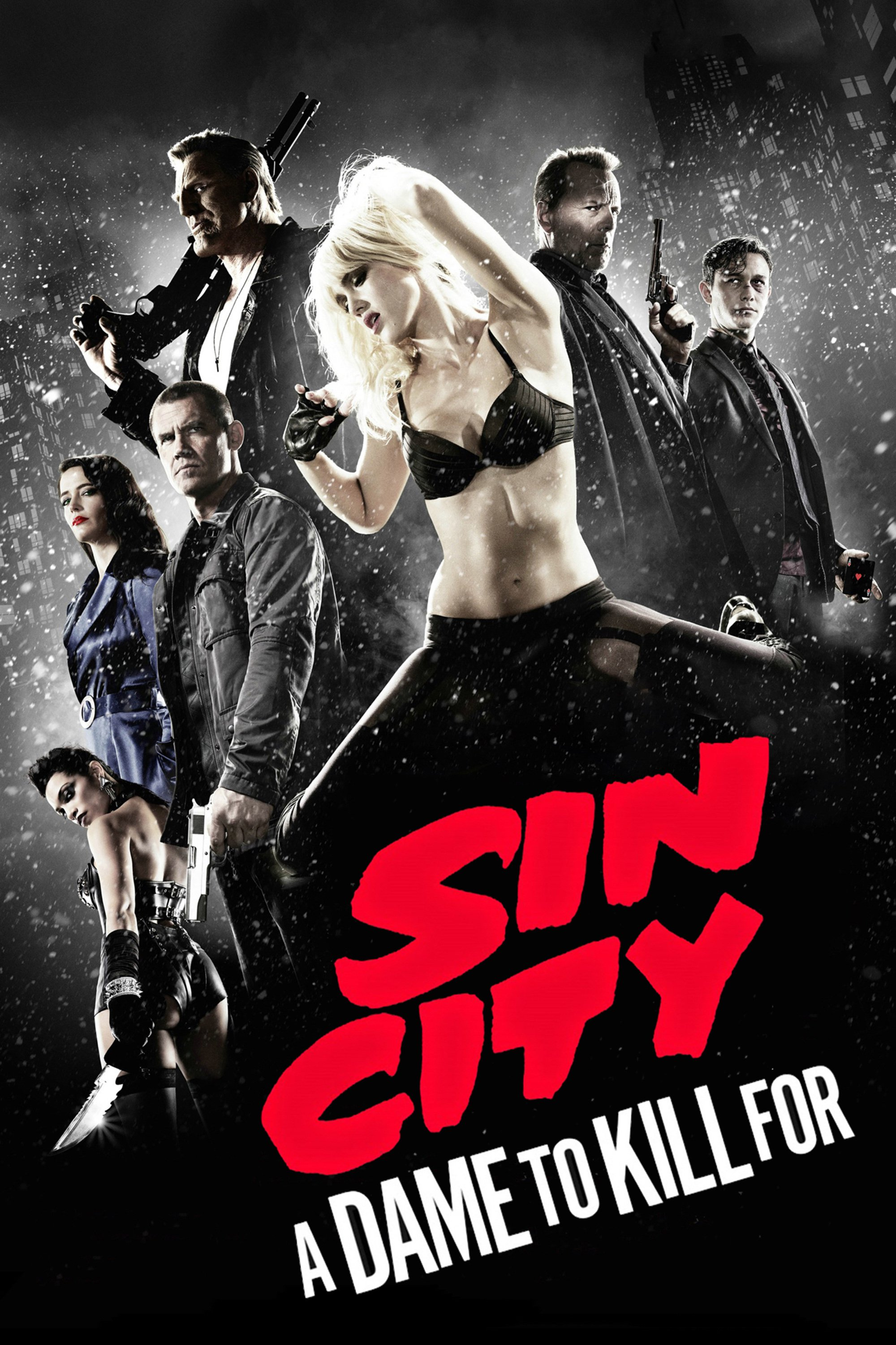 "Poster for the movie ""Sin City: A Dame to Kill For"""