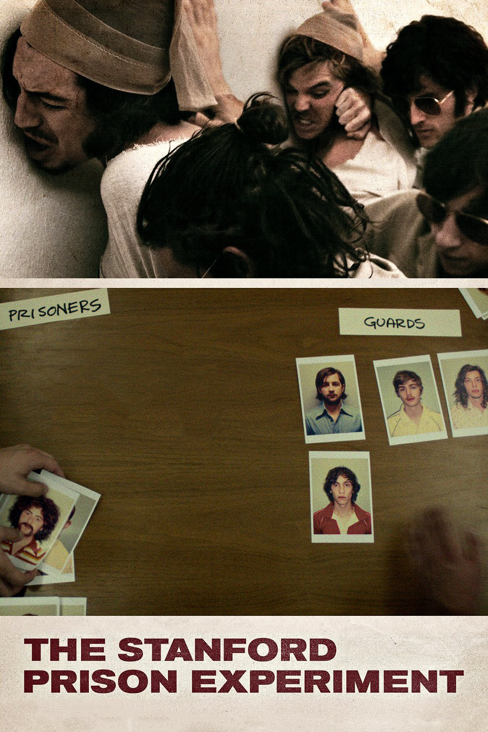 "Poster for the movie ""The Stanford Prison Experiment"""