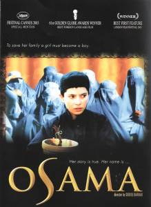 """Poster for the movie """"Osama"""""""