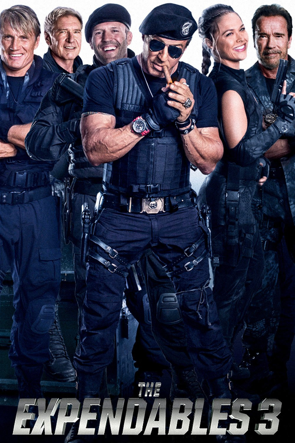 """Poster for the movie """"The Expendables 3"""""""