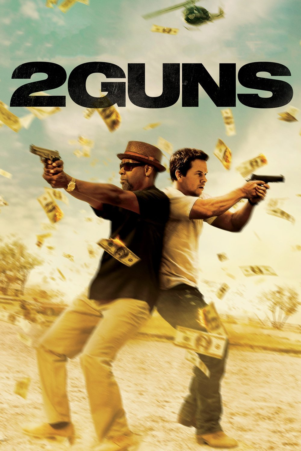 """Poster for the movie """"2 Guns"""""""