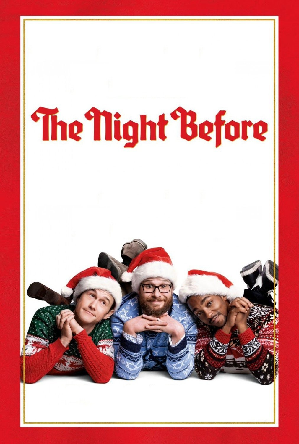 "Poster for the movie ""The Night Before"""