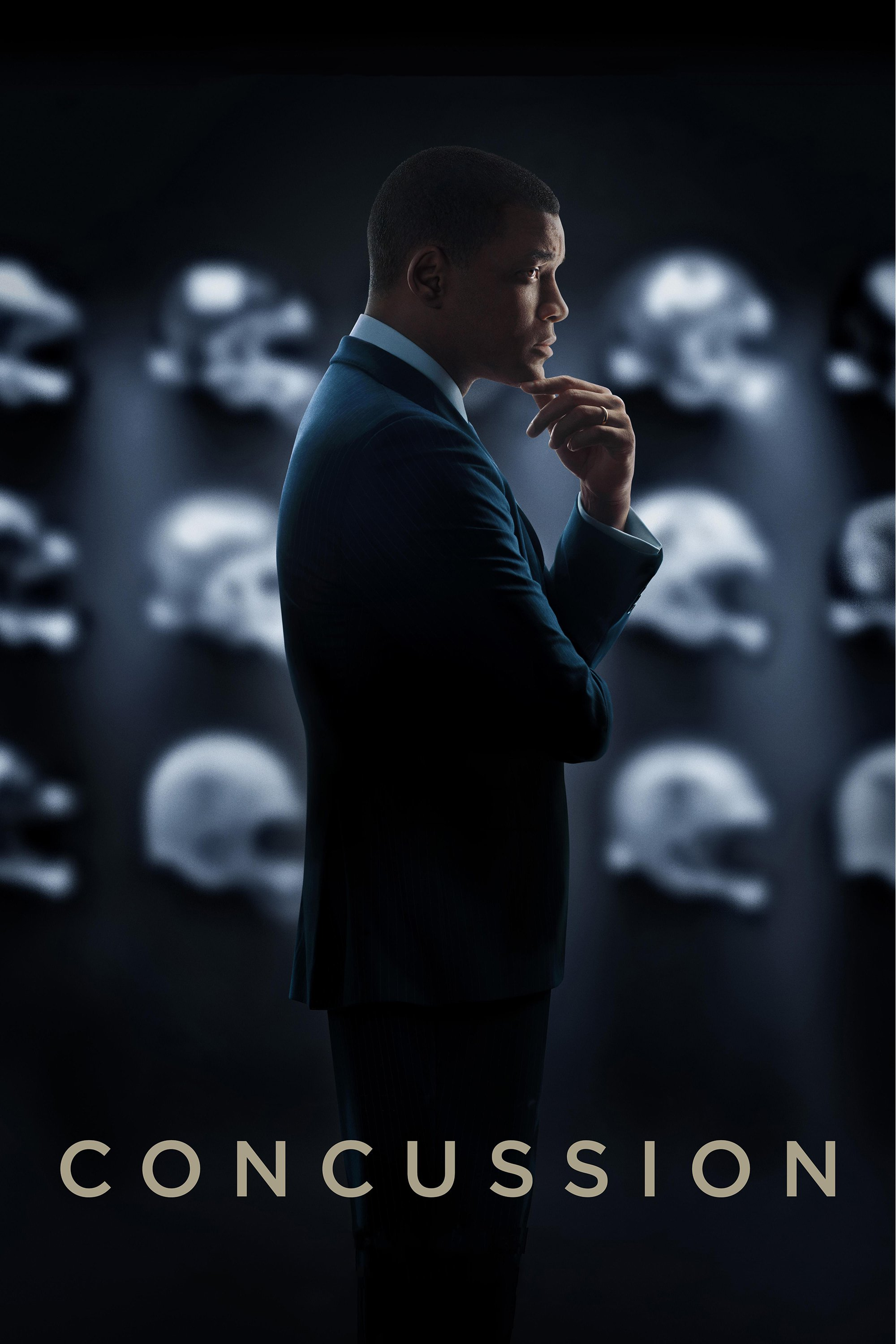 """Poster for the movie """"Concussion"""""""
