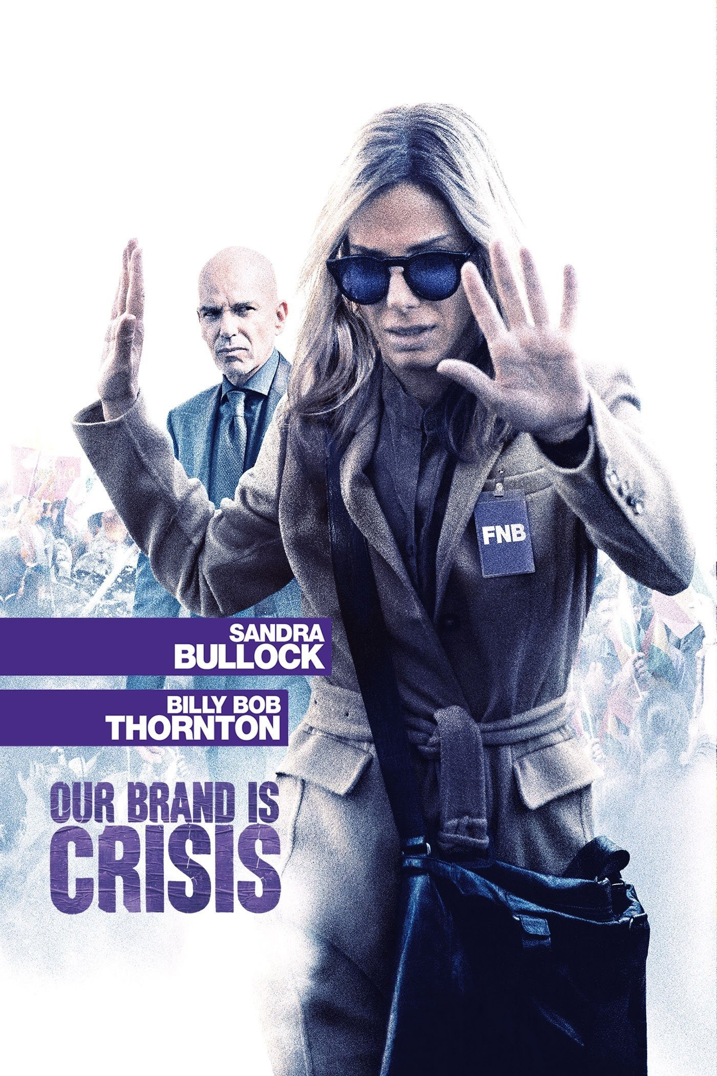 "Poster for the movie ""Our Brand Is Crisis"""
