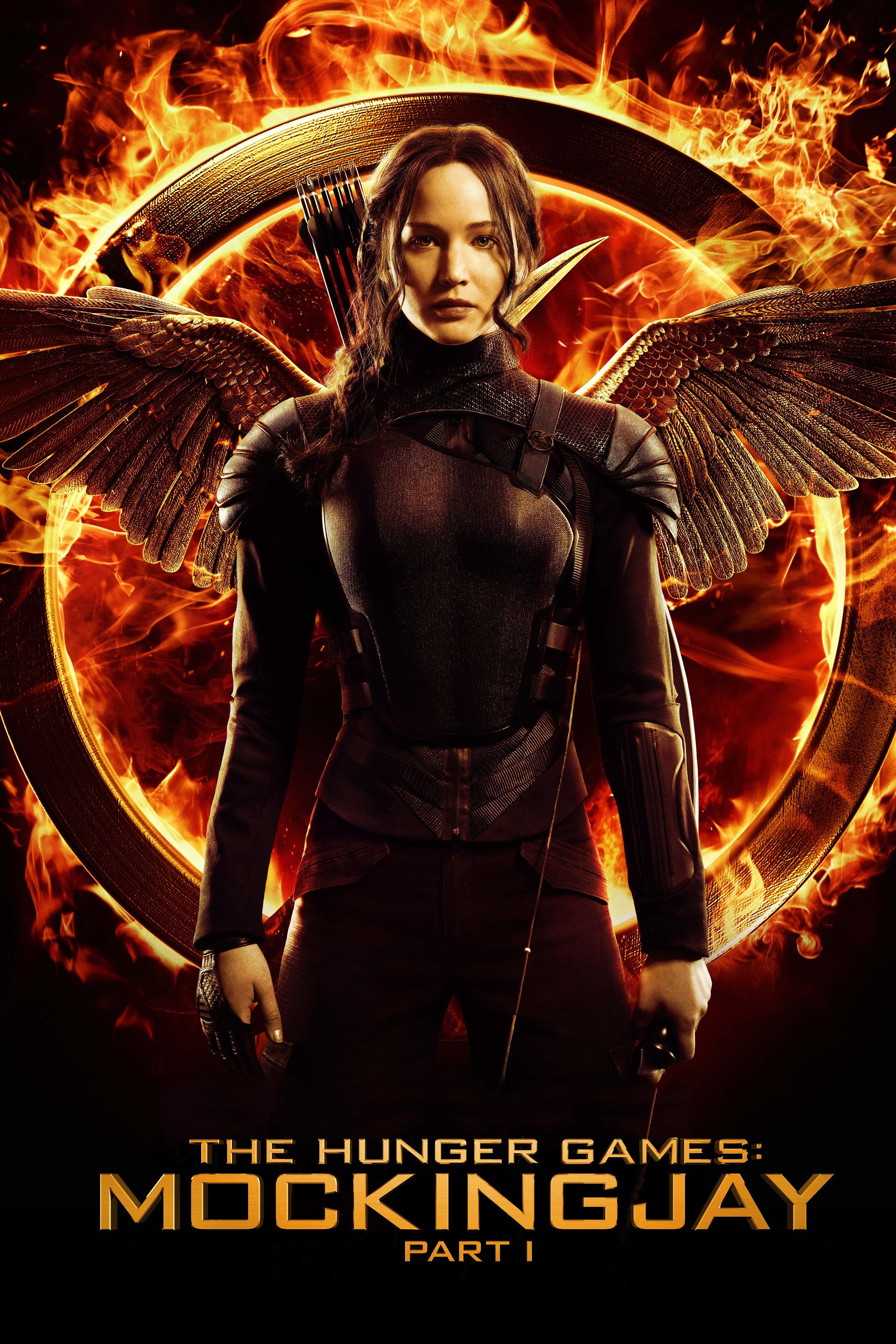 """Poster for the movie """"The Hunger Games: Mockingjay - Part 1"""""""