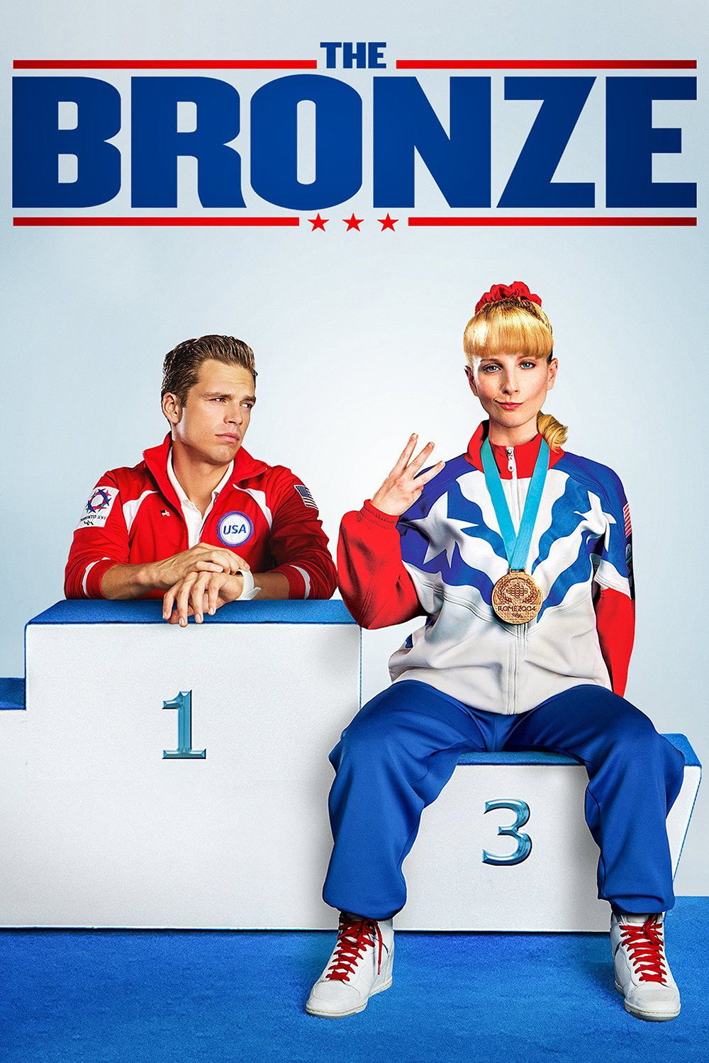 """Poster for the movie """"The Bronze"""""""
