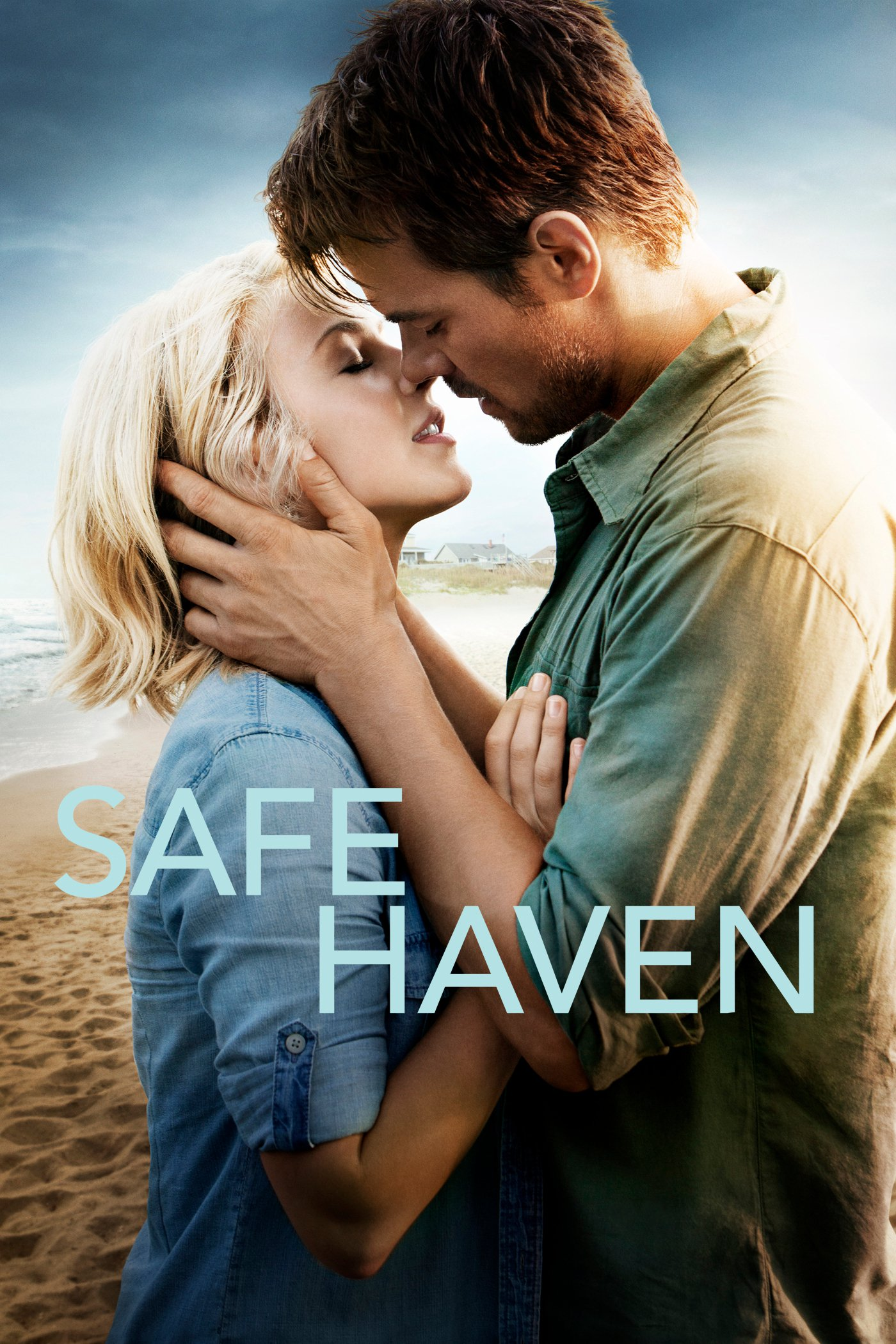 """Poster for the movie """"Safe Haven"""""""