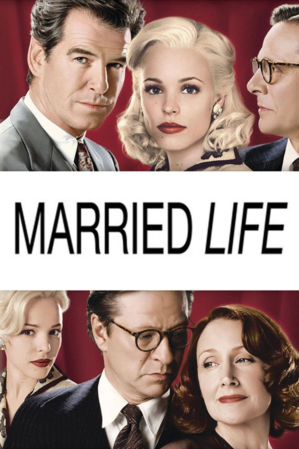 """Poster for the movie """"Married Life"""""""