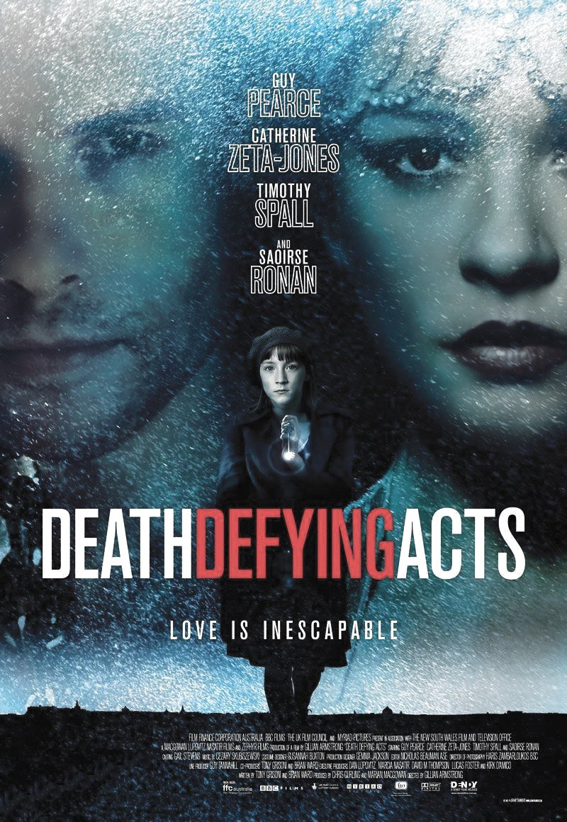 """Poster for the movie """"Death Defying Acts"""""""
