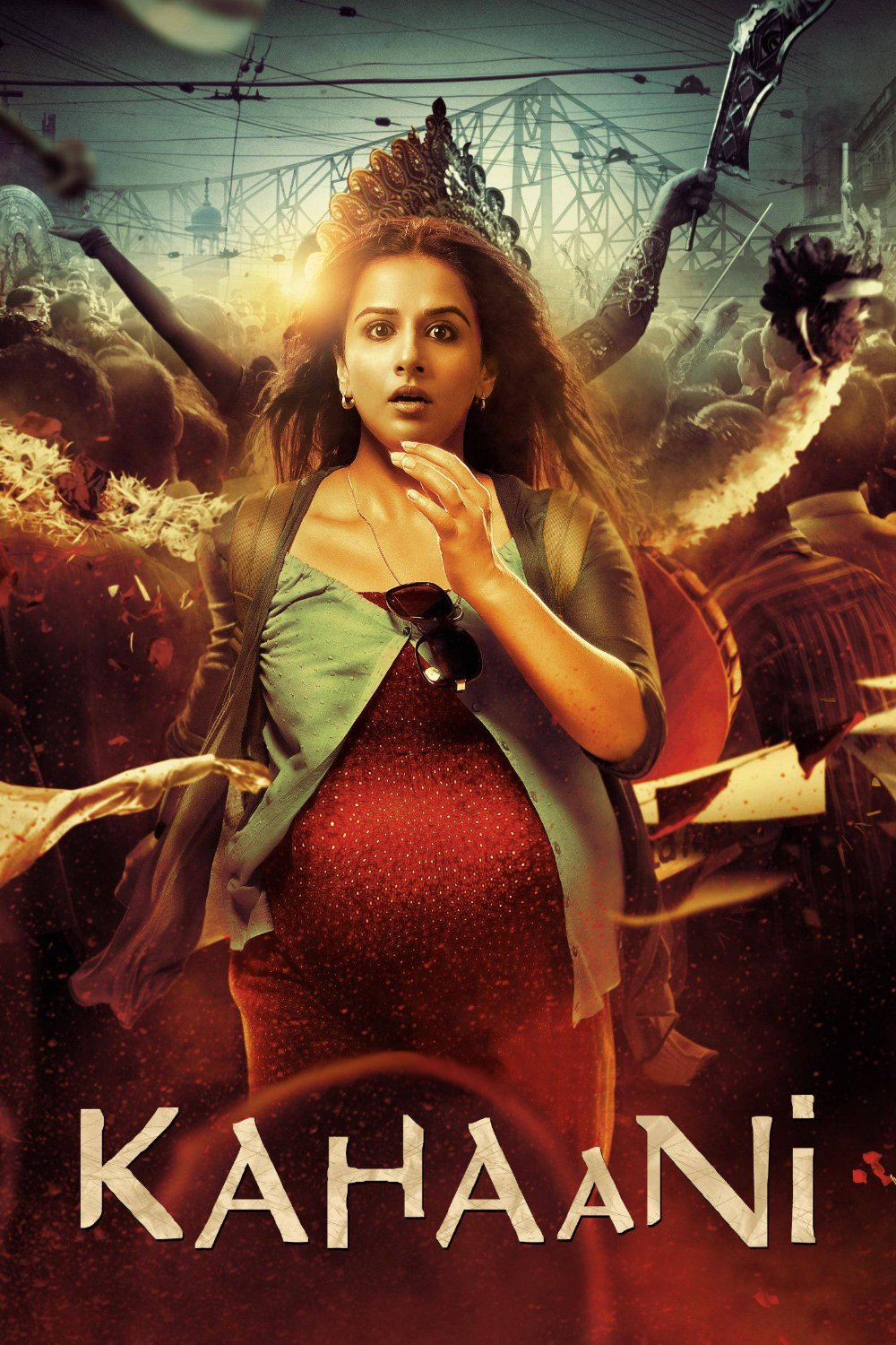 """Poster for the movie """"Kahaani"""""""