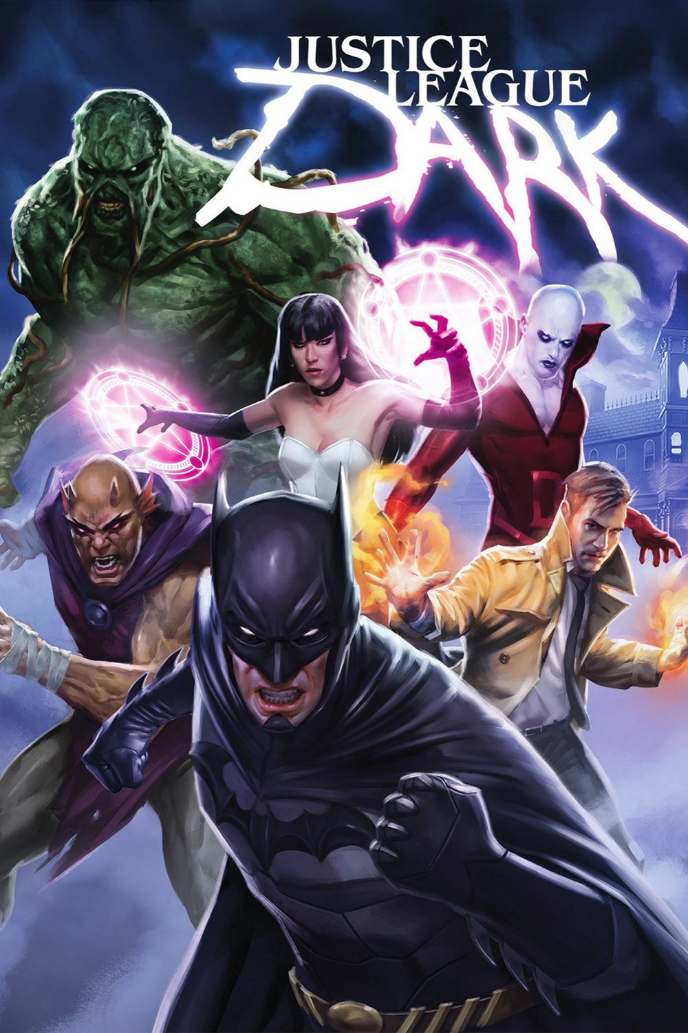 """Poster for the movie """"Justice League Dark"""""""
