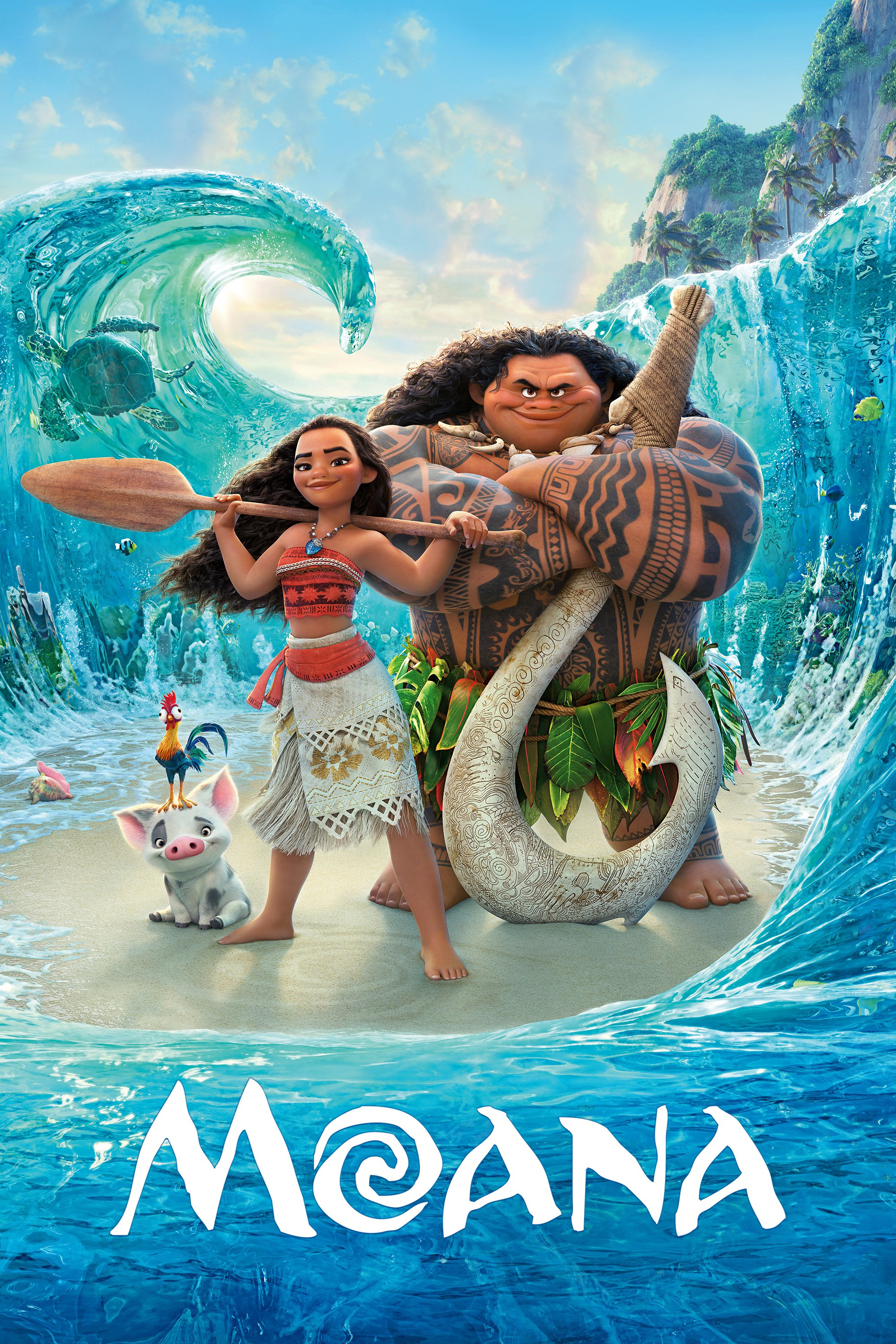 """Poster for the movie """"Moana"""""""