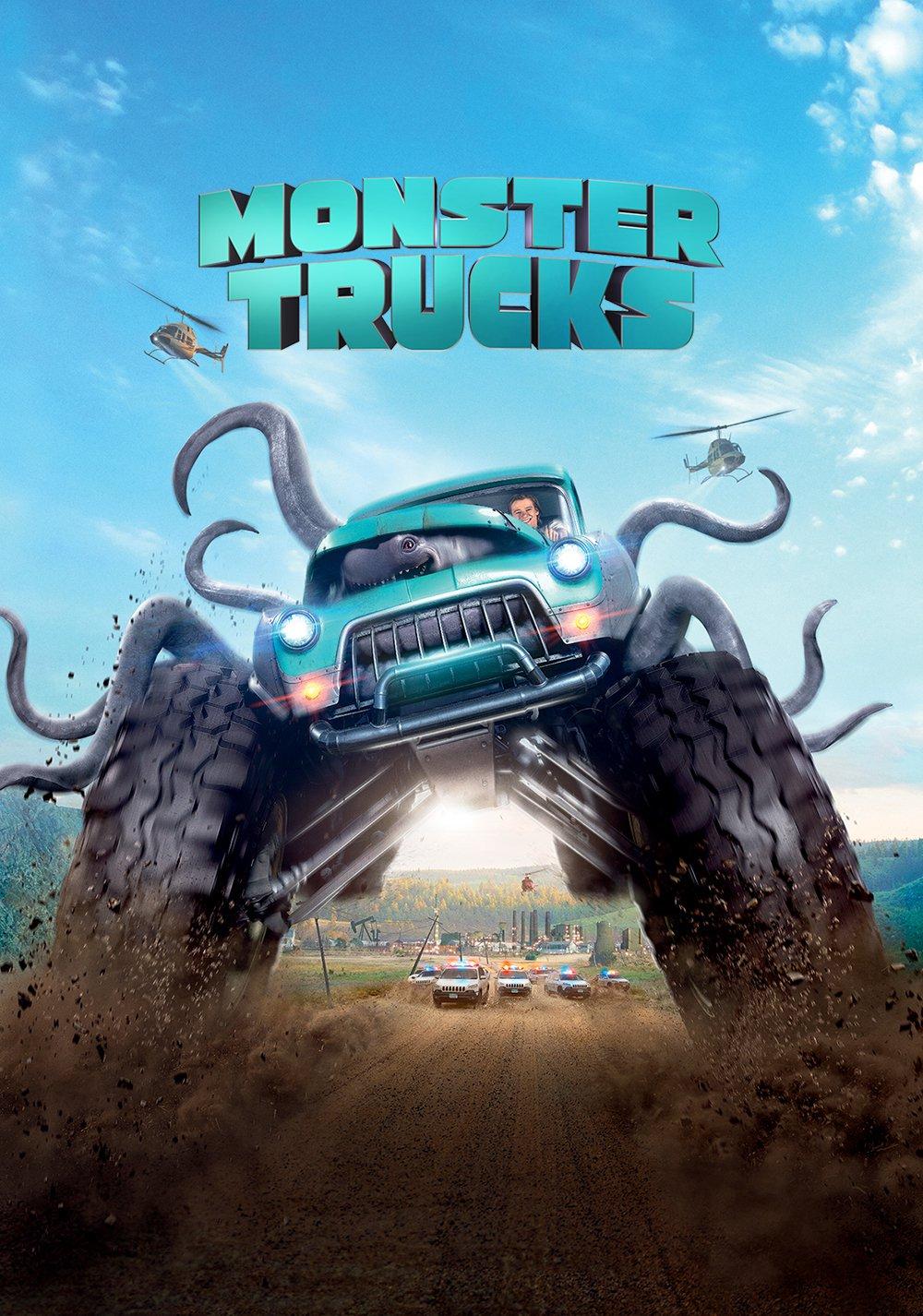 """Poster for the movie """"Monster Trucks"""""""