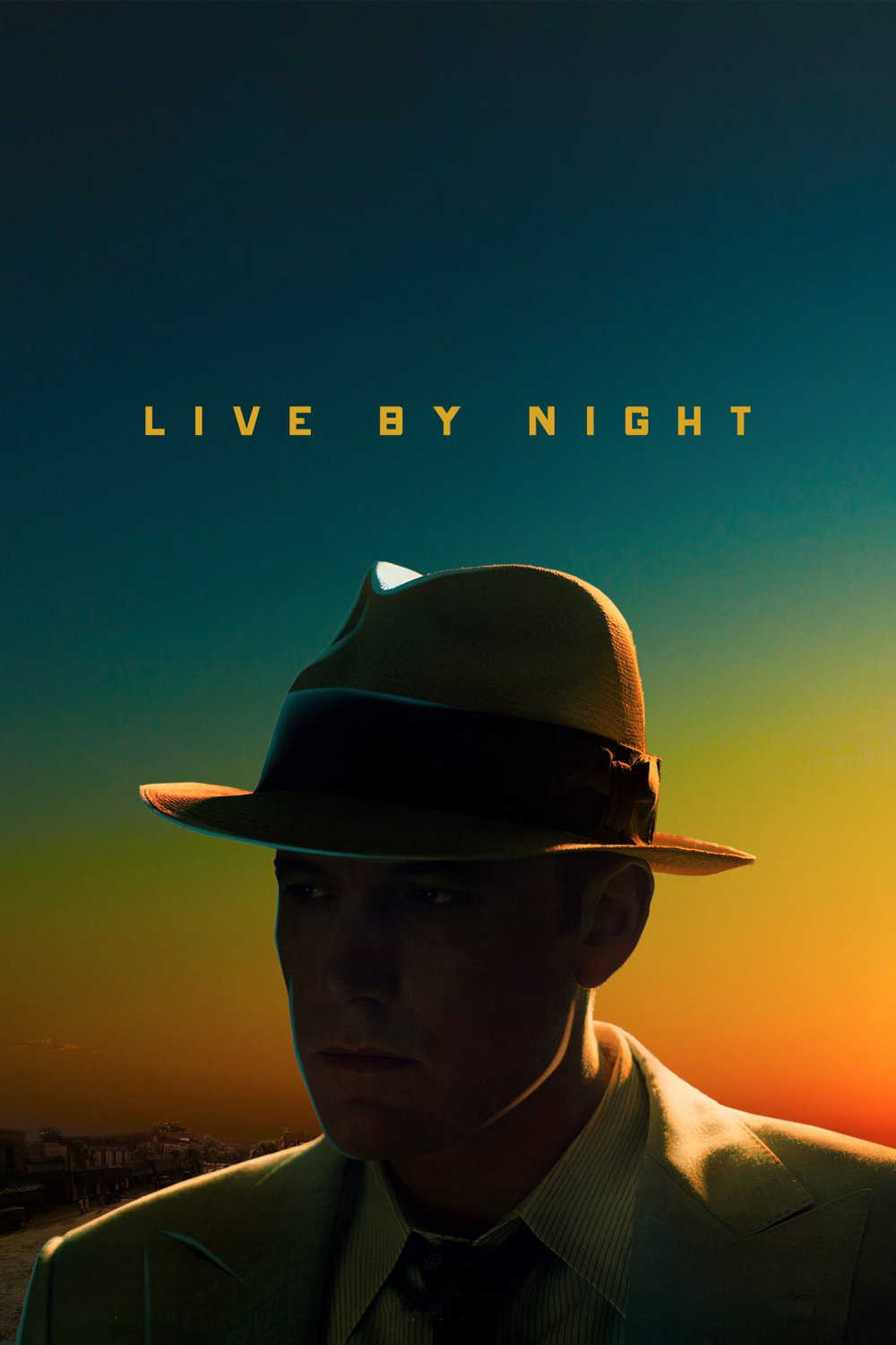 "Poster for the movie ""Live by Night"""