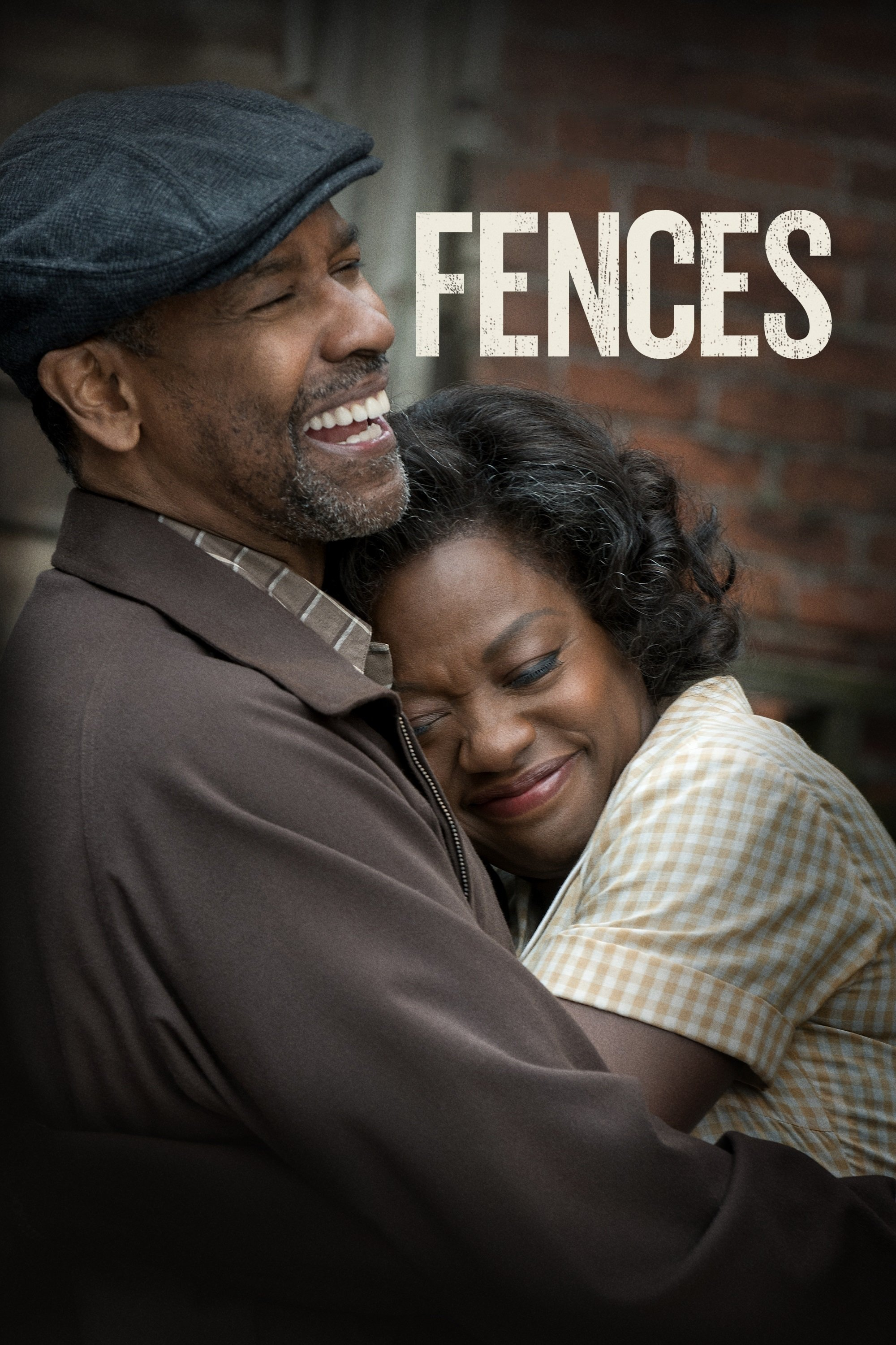 "Poster for the movie ""Fences"""