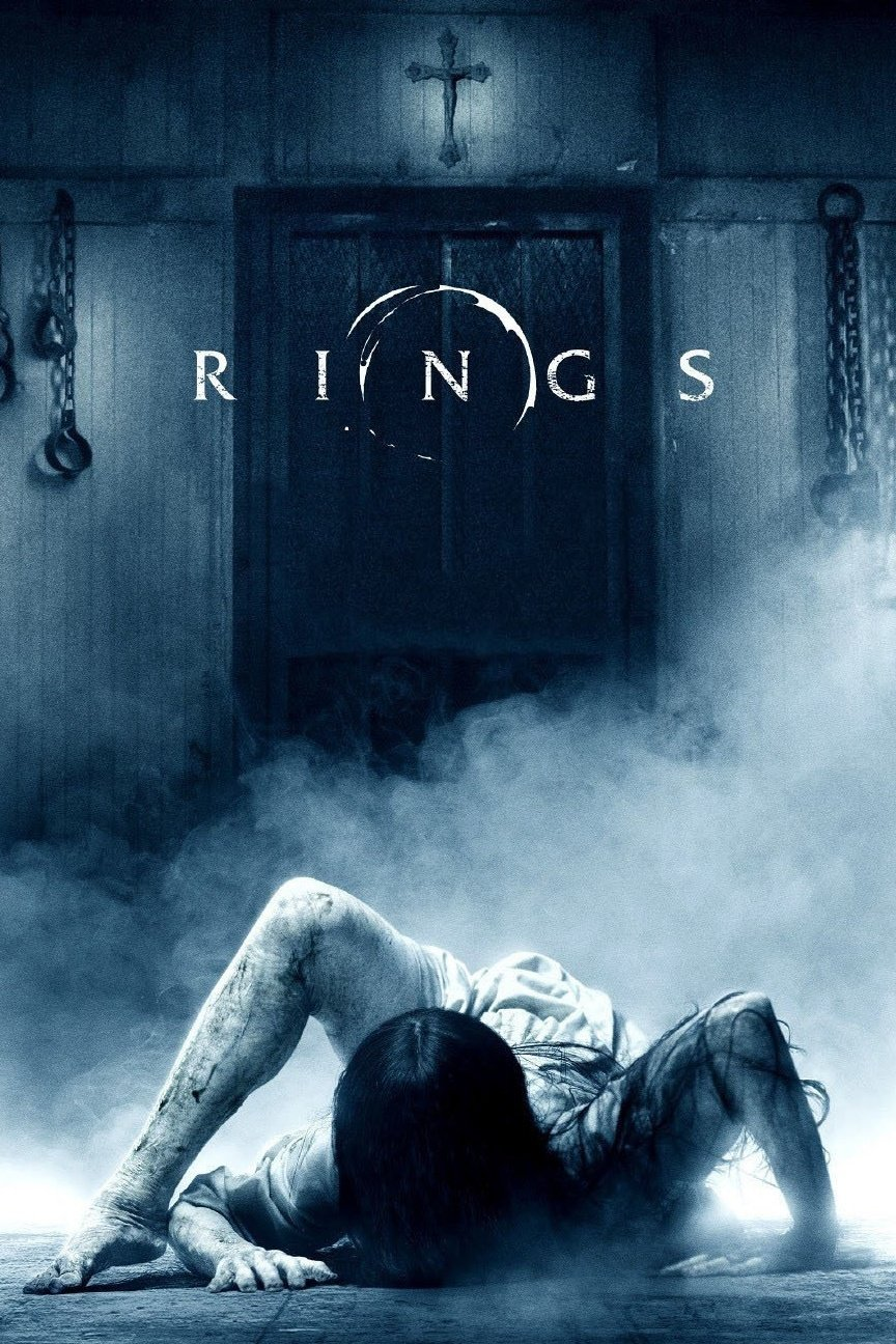 """Poster for the movie """"Rings"""""""