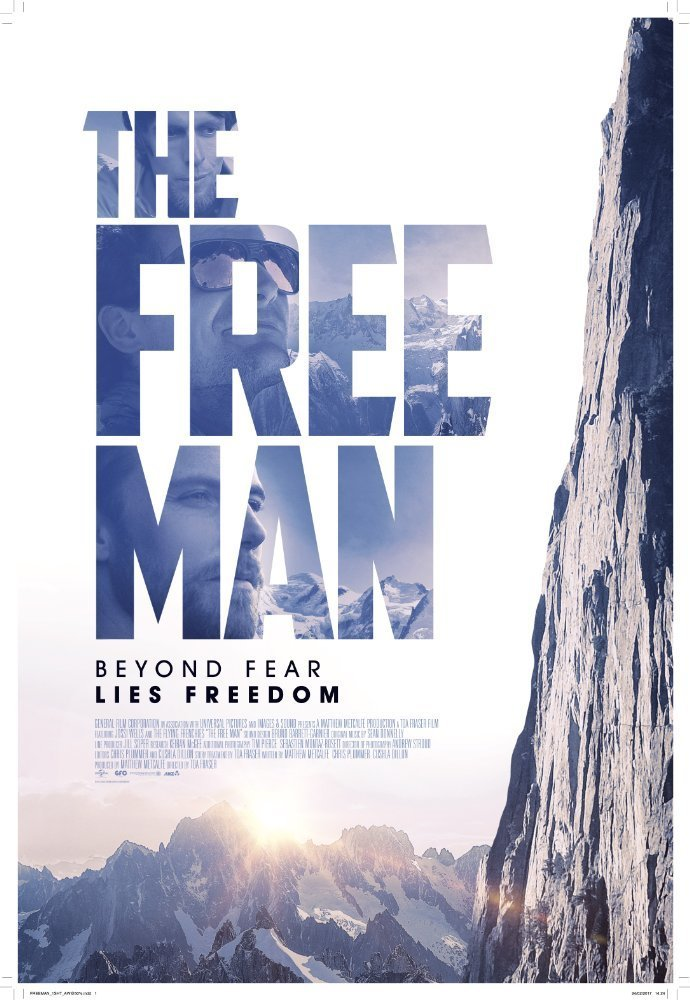 """Poster for the movie """"The Free Man"""""""