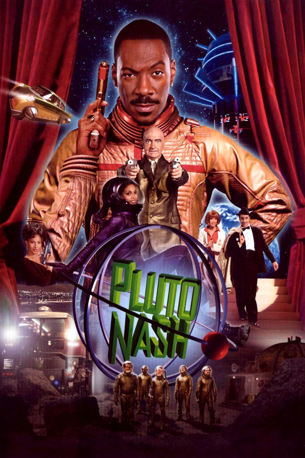 """Poster for the movie """"The Adventures of Pluto Nash"""""""