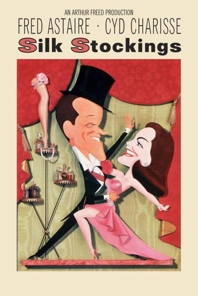"""Poster for the movie """"Silk Stockings"""""""