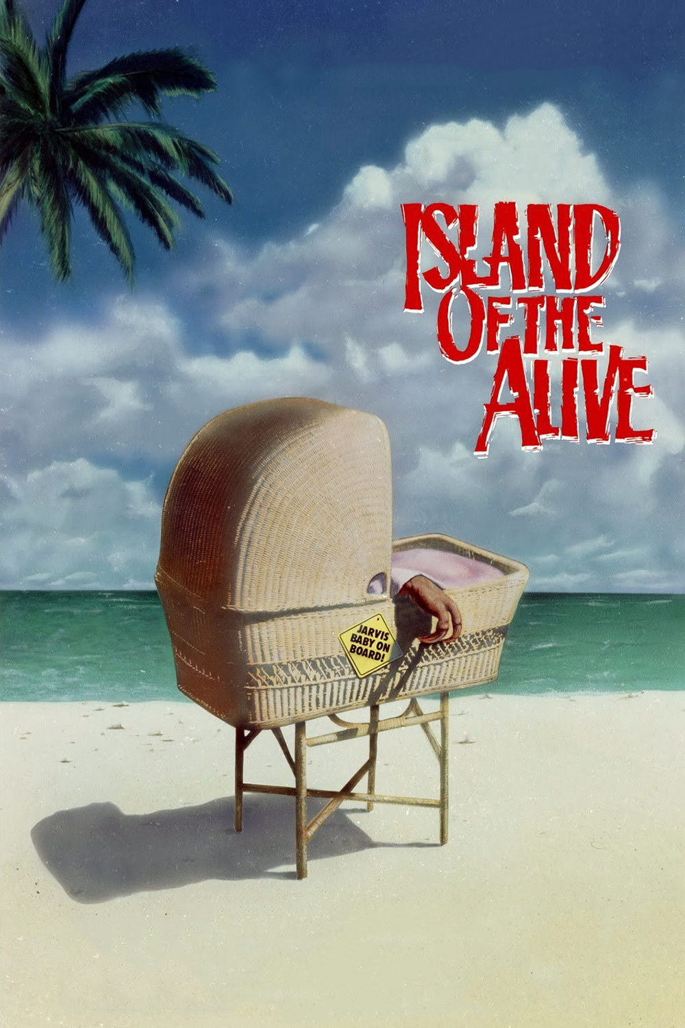 """Poster for the movie """"It's Alive III: Island of the Alive"""""""