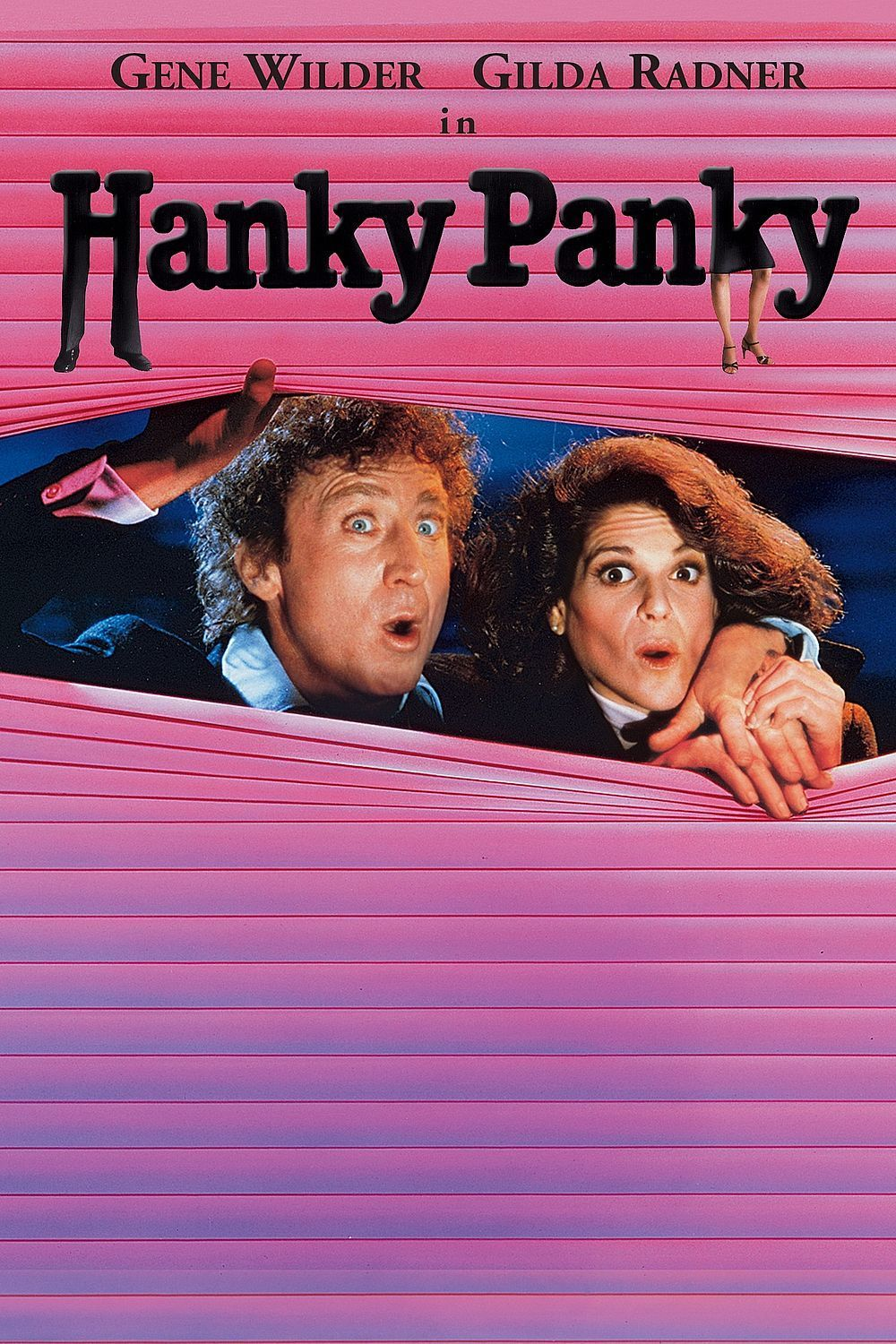 """Poster for the movie """"Hanky Panky"""""""