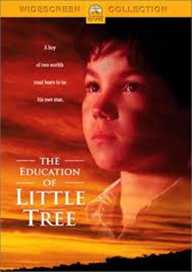 """Poster for the movie """"The Education of Little Tree"""""""