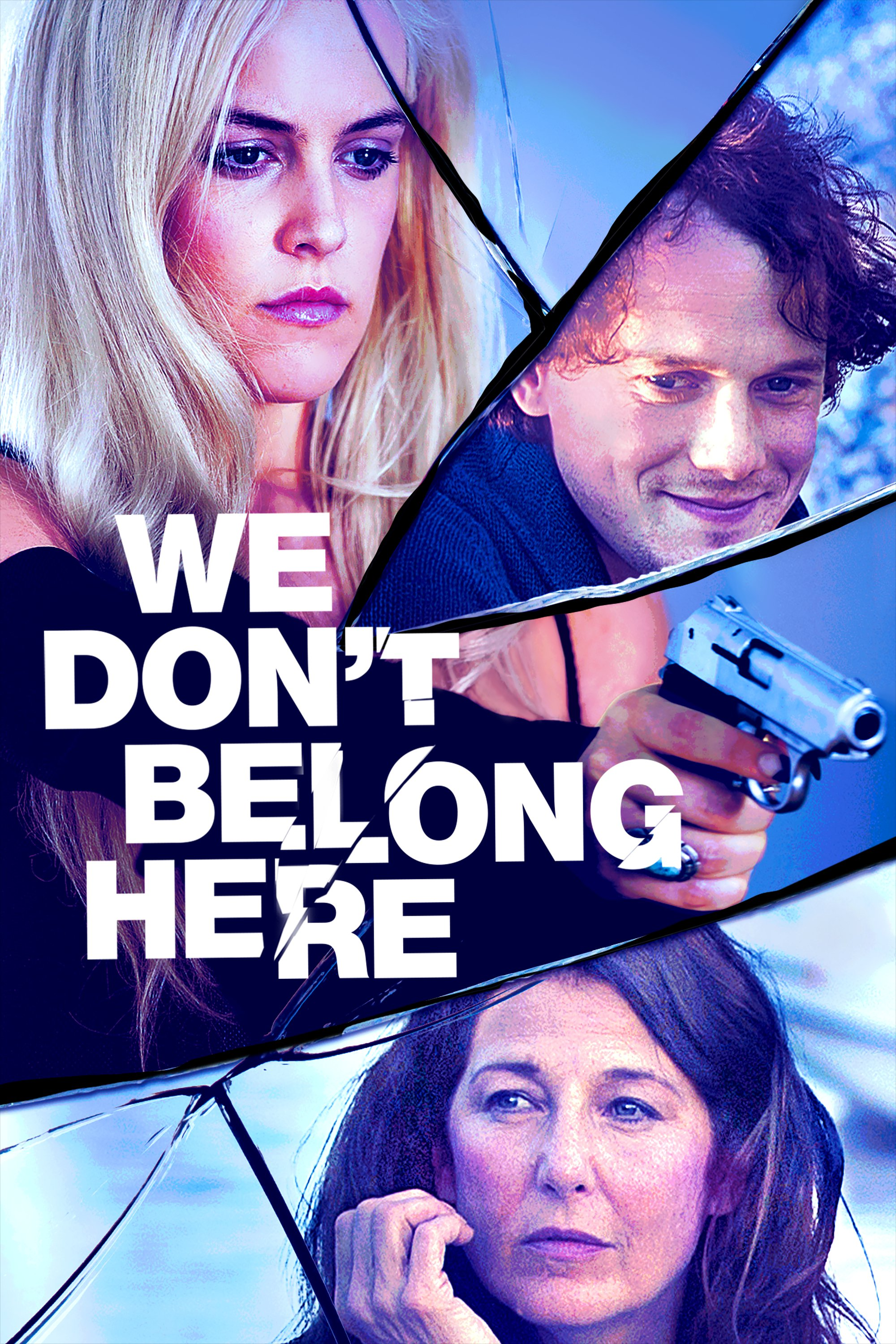 """Poster for the movie """"We Don't Belong Here"""""""