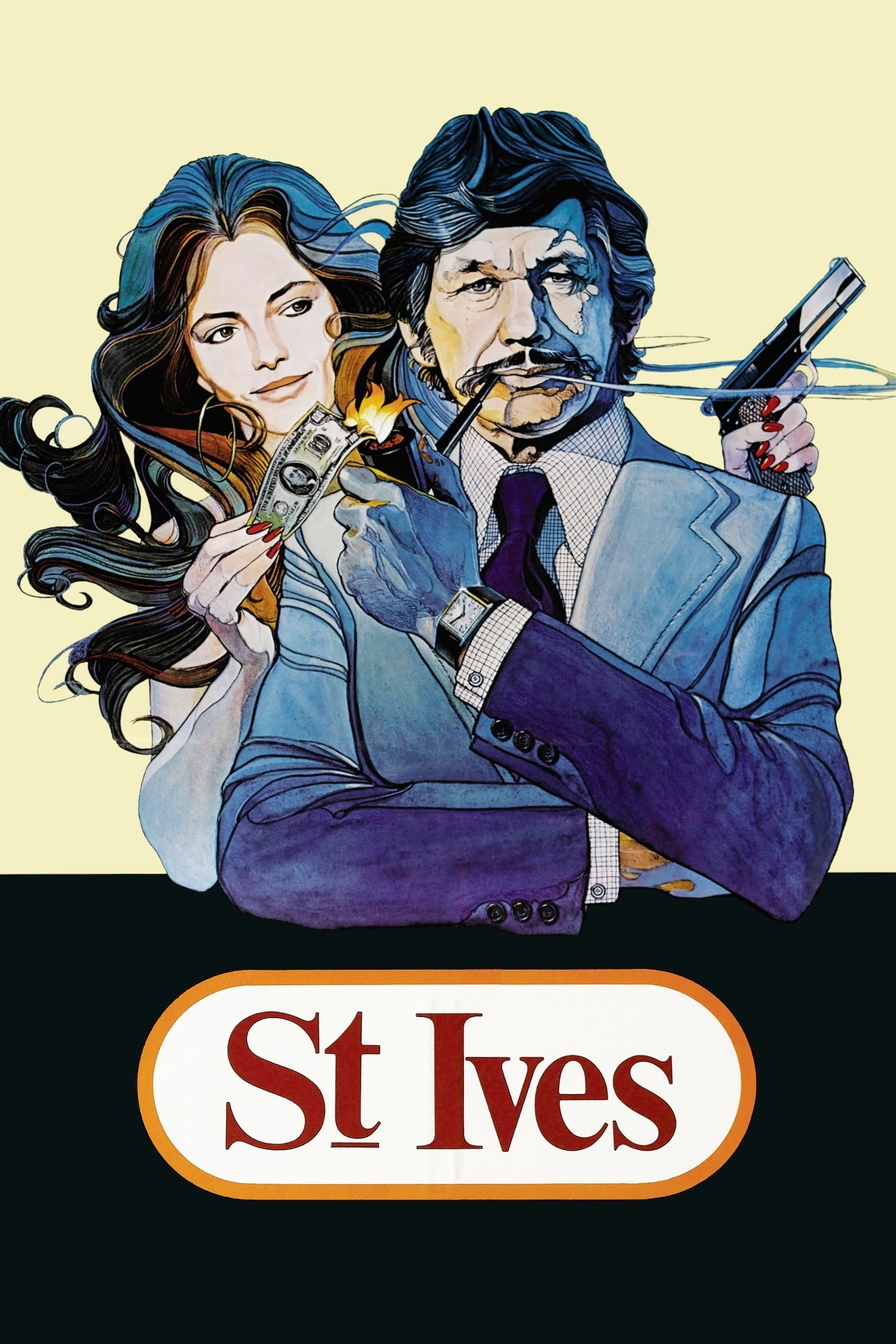 """Poster for the movie """"St. Ives"""""""