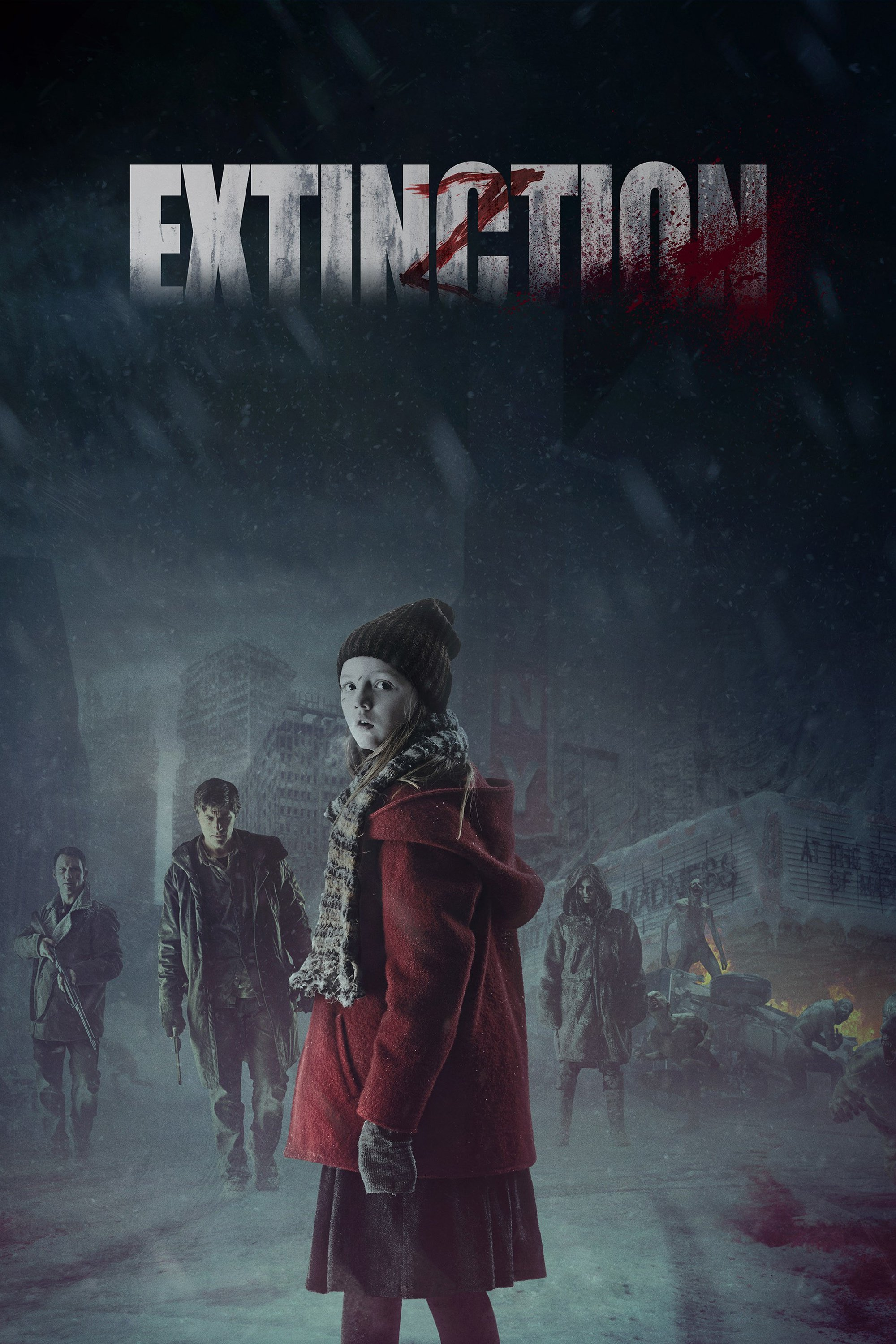 """Poster for the movie """"Extinction"""""""