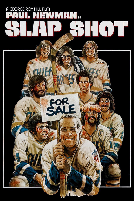 """Poster for the movie """"Slap Shot"""""""
