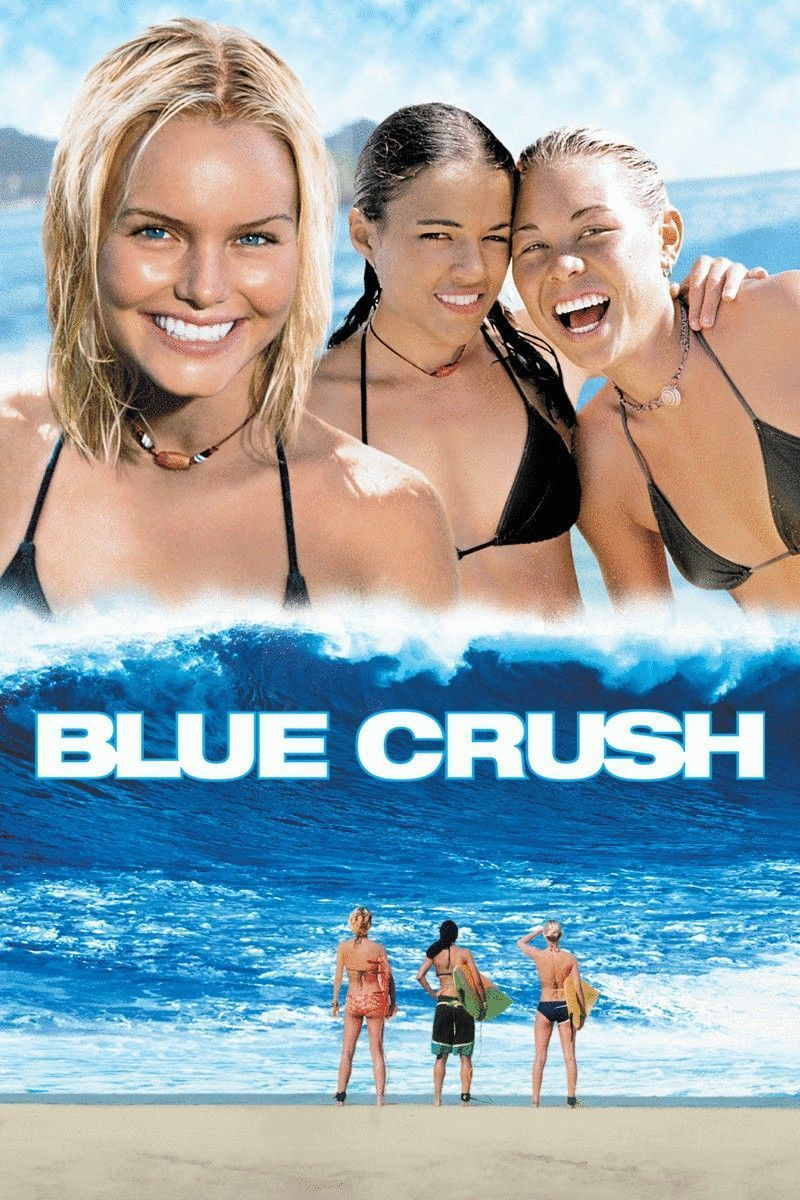 """Poster for the movie """"Blue Crush"""""""