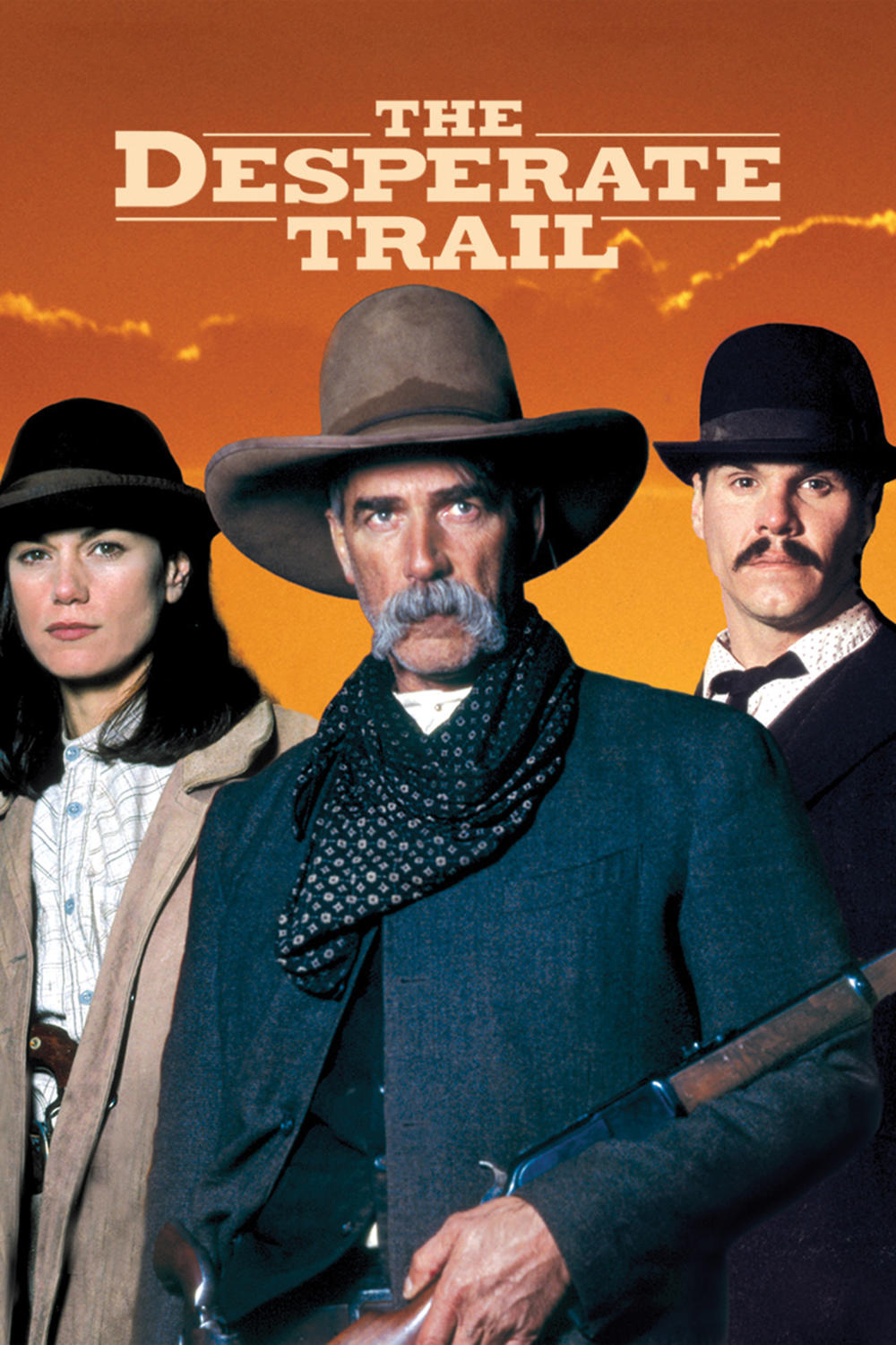 """Poster for the movie """"The Desperate Trail"""""""