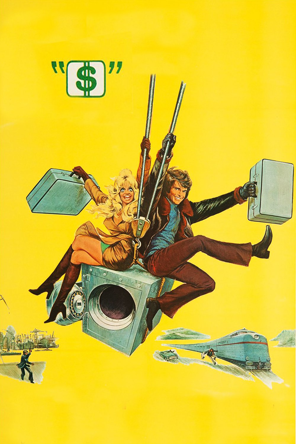"""Poster for the movie """"Dollars"""""""