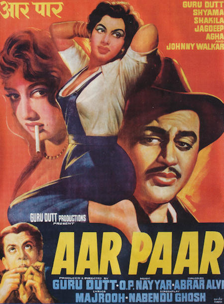 """Poster for the movie """"Aar Paar"""""""