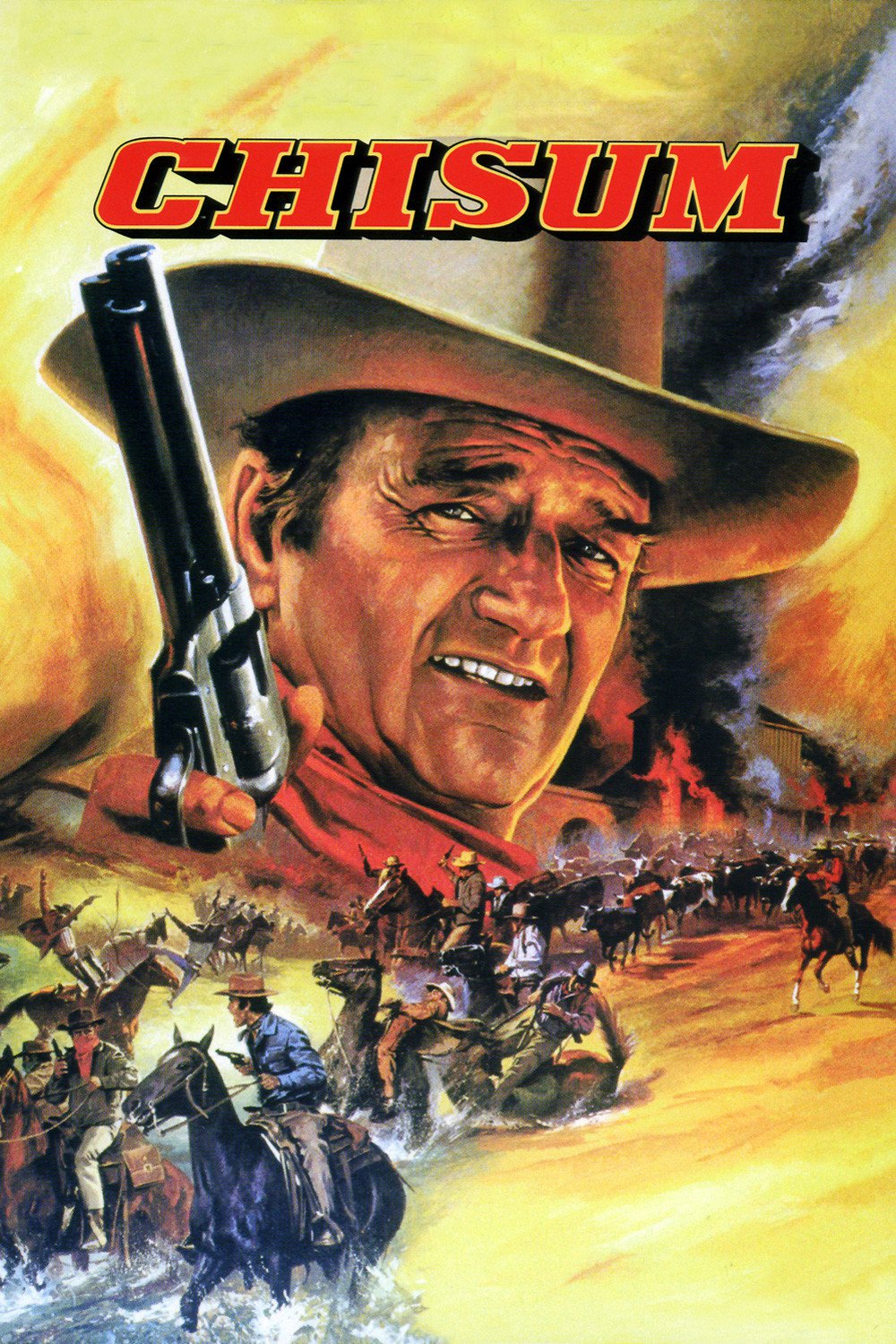 """Poster for the movie """"Chisum"""""""