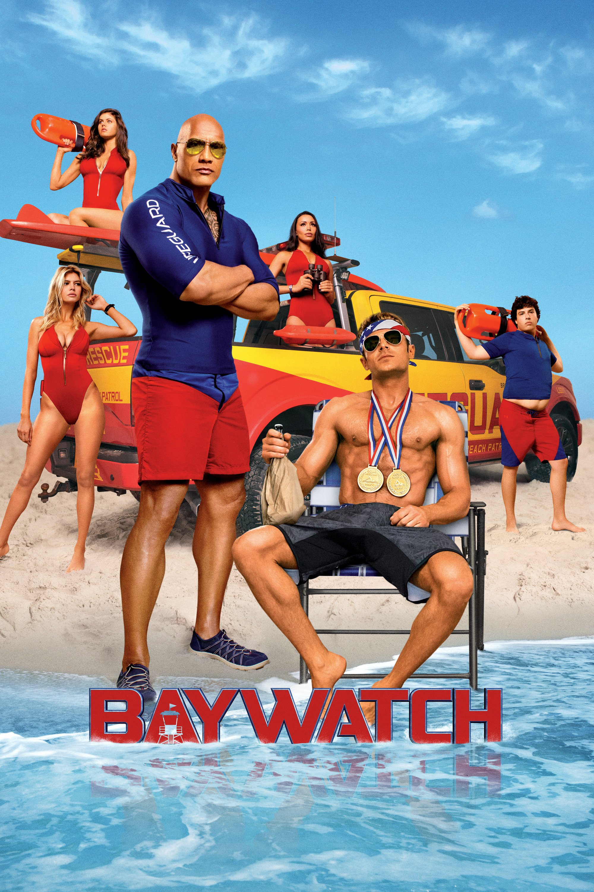 """Poster for the movie """"Baywatch"""""""